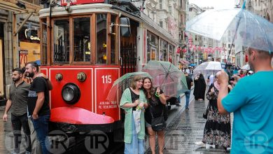 الأمطار السياحة إسطنبول