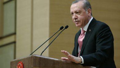 أردوغان اللغة التركية