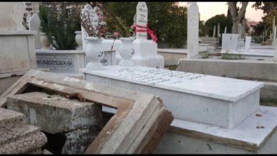 نبش قبر طفل سوري لبنان