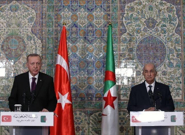 تركيا الجزائر