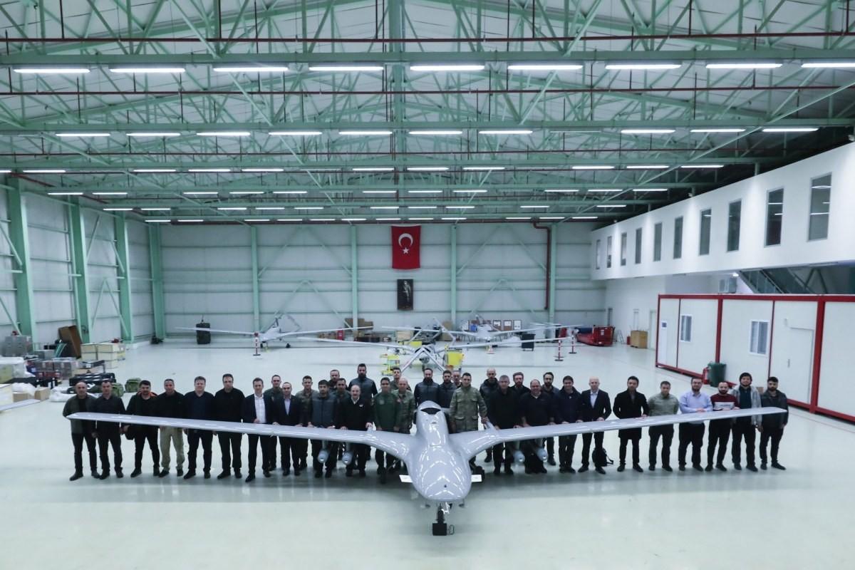طائرة مسيرة تركية