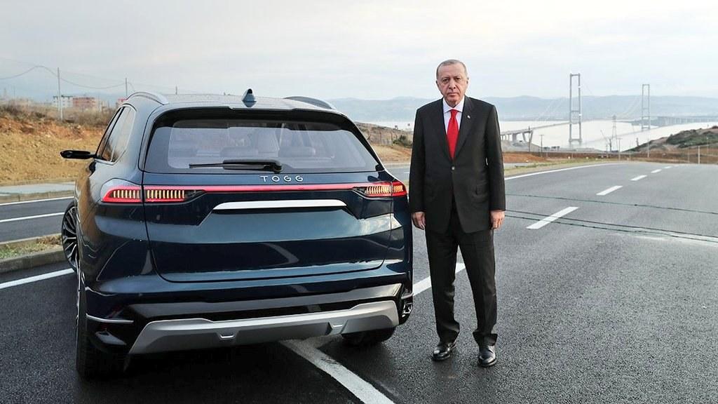 أردوغان السيارة التركية
