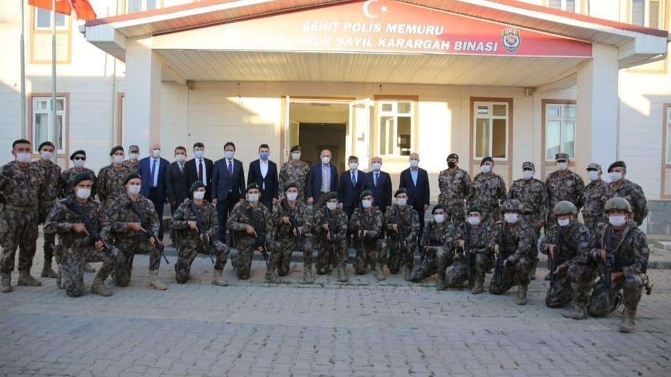 مدير الأمن العام التركي يتفقد قوى الأمن الداخلي في الشمال السوري
