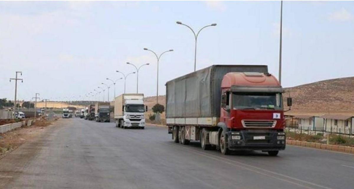 شاحنات الأمم المتحدة إلى إدلب