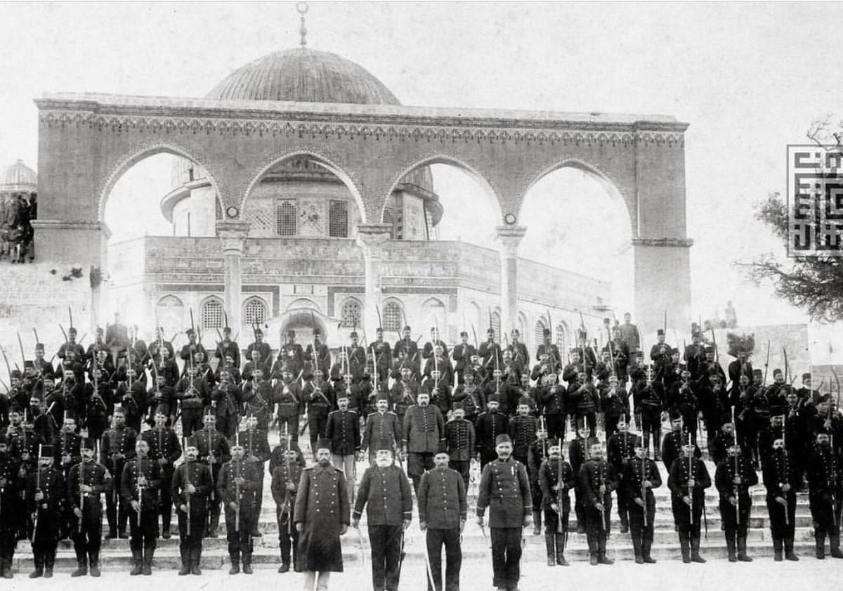 العثمانيون المسجد الأقصى