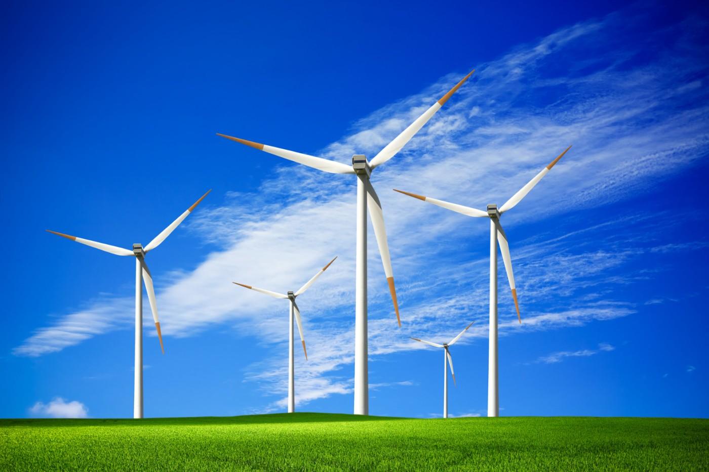 الكهرباء من الرياح