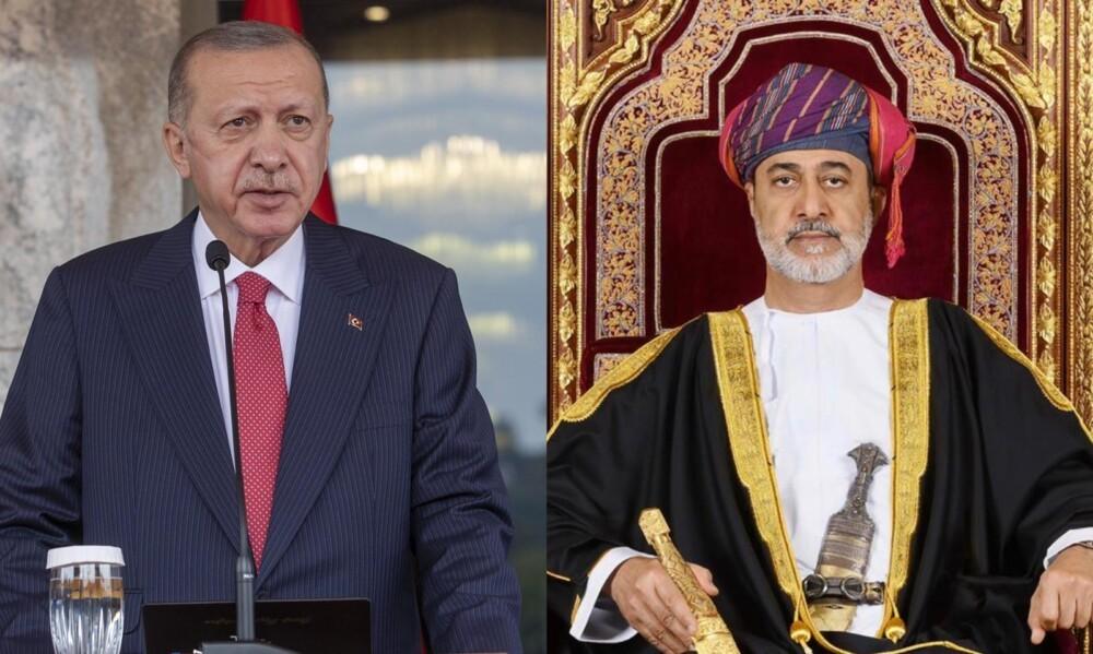 سلطنة عمان تركيا